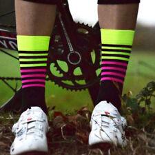 NUEVA _ Calcetines Ciclismo Hombre Mujer Profesional Deportivo Sudoración