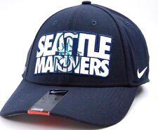 8810fb8a93327 Seattle Mariners Nike Verbiage Legacy 91 Swooshflex MLB Baseball Cap Hat