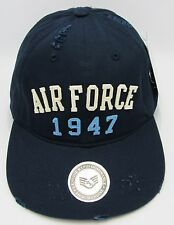 United States U.S. AIR FORCE Cap Hat USA Caps Distressed US Military Hats NWT
