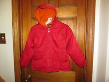 Girls GAP red winter COAT SIZE M 8