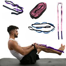 Yoga Belt Ballet Stretch Strap Exercise Leg Stretching Strap For Door Band Dance