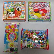 Kracie Happy kitchen Popin cookin Japanese candy DIY Making Kit 4pcs Bento 11