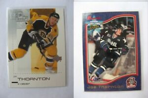 "1997-98 Bowman #32 Thornton Joe  red ""bowman"" letters  ohl"