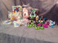 McDonald's & Burger King Spiderman, Peter Pan & Toy story toys