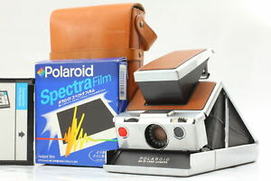 [NEAR MINT CASE] Polaroid SX-70 Vintage Instant Land camera Brown from Japan