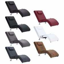 vidaXL Chaiselongue mit Massage Relaxliege Liegesessel Lounge mehrere Auswahl