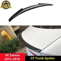 XE Trunk Spoiler Carbon Fiber Wings for Jaguar XE 20t 25t 35t X760 15-18 V Style