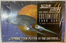 1995 Decipher Star Trek The Next Generation  CCG Expansion Pack Sealed Box
