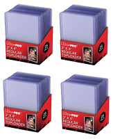 (100) Ultra-Pro Regular Topload Trading Card Holders For Sports Trading Cards