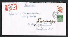 Bund, Brief, 703 R, UV 150, auf E-Brief von Aachen nach Bonn