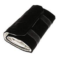Schmuckrolle Schmucktasche,aus Flanell,fuer Ring, zur Schmuckaufbewahrung a Z2I2