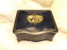 Vintage Edwardian ~Antique Style State Express Cigarette Tin Box No: 555