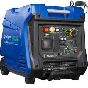 Westinghouse iGen4500DF 4,500-W Dual Fuel Inverter Generator with Remote Start