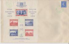 Czechoslovakia Stamp Exhibition 1943, souvenir envelope + 5 stamps,  + 2 smaller