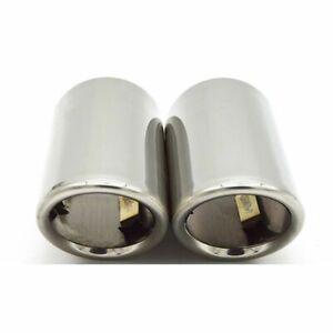Car Exhaust Muffler Tip Pipe Accessories For Volkswagen VW Passat B7 CC Tiguan
