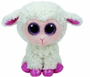 "Ty Beanie Boos Regular 6"" - Easter Twinkle Cream Lamb Plush"