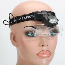 5 Lens Jewelry Repair Magnifying Glass Headband Loupe Magnifier with LED Light
