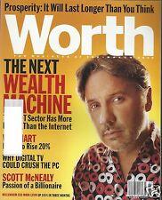 Worth Magazine March 2000 The Next Wealth Machine Mark Levin Scott McNealy