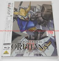 MOBILE SUIT GUNDAM IRON-BLOODED ORPHANS Vol.1 Limited Edition Blu-ray Book Japan