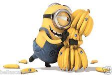Eßbar Tortenaufleger Minions Banana Dekoration A4 Party Oblate dvd Fototorte neu