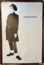 """Lisa Stansfield Affection 1989 Promo Poster 20"""" X 30"""" Original - Never Hung"""