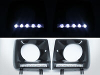 Black Head Light Cover 5 PCS LED Daytime Running Lamp for 90-13 Mercedes W463 G