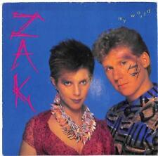"""ZAK - My World - 7"""" Record Single"""