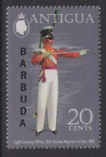 Barbuda SG123aw 1973 20 C uniformes WMK couronne à droite de CA neuf sans charnière