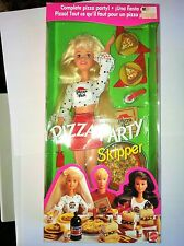 New Pizza Party Skipper- sister of Barbie Doll  1994 NRFB /good condition