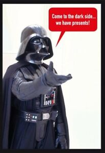 Hallmark Star Wars Darth Vader Birthday Card  - Come to the Dark Side...we Have