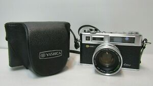 VINTAGE YASHICA ELECTRO 35 GSN CAMERA 35MM + LENS CAMERA GREAT CONDITION + CASE