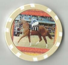 SECRETARIAT TRIPLE CROWN  HORSE RACING COLLECTOR CHIP #2