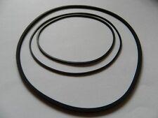 Tête carrée-Courroie phrase PHILIPS 4308 Rubber drive belt Verset. avec 3 Courroie 020007k