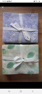 Eco Cotton fabric fat quarters bundles