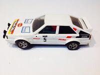 9 Dent pour s/'adapter Scalextric /& autres SLOT CARS W8100 10 Blanc Pignon Spur Gears