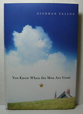 YOU KOW WHEN THE MEN ARE GONE by Siobhan Fallon, signed 1st/1st hardback