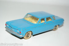 DINKY TOYS 552 CHEVROLET CORVAIR BLUE EXCELLENT CONDITION REPAINT