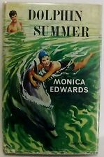 Dolphin Summer Monica Edwards First Edition 1963 HB DJ Vintage Childrens book