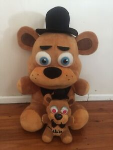 """Five Nights At Freddy's x 2 Large Bear Soft Toy Plush 20"""" Height"""