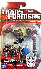 "Hasbro Transformers Wreckloose Scout Class Decepticon  4"" Action Figure  NIB"