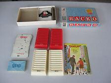 Vintage Milton Bradley Racko Game 1961 Complete!