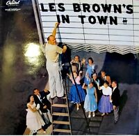 LES BROWN'S IN TOWN just you just me/ridin high LP EX++