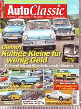 Auto Classic 1/10 Granada 1 Porträt/VW Karmann Typ 34 / Opel Ascona A und B/2010