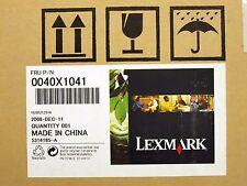 LEXMARK 40X1041 TRANSFER BELT MAINTENANCE KIT For C920 Laser 120000 Page New OB