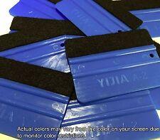 PRO Felt Edge carbon fibre Vinyl Wrap Wrapping Squeegee  Tool Scraper