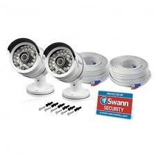 Swann Pro T858PK2 Super HD 3MP CCTV Bullet Camera Night Vision 30m For DVR-4750