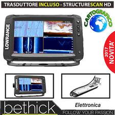 ECOSCANDAGLIO CARTOGRAFICO GPS - LOWRANCE ELITE 9 TI TRASDUTTORE TOTALSCAN