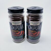 Frontier Coop Chipotle 2.15 oz (2 Pack) Smoked Red Jalapeños Powder Exp 06/2023