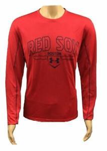 Under Armour Men's HeatGear MLB Boston Red Sox Loose Fit Shirt XL 1283419-600