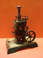 "ALL ORIGINAL MARKLIN VERTICAL LIVE STEAM ENGINE #4112 ""PATENT"" DAMPF 1909"